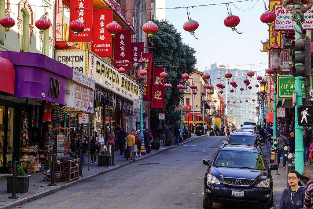 Chinatown at SF